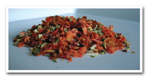 Dehydrated Blend of Vegetables